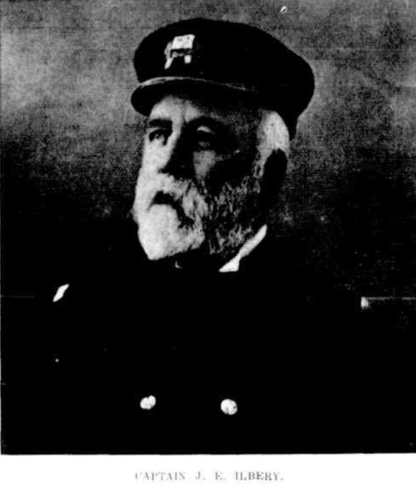 Captain of the ill-fated S.S Waratah