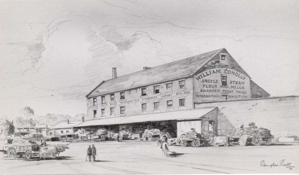 Conollys Mill drawing