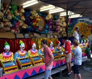 Those insatiably hungry clowns!