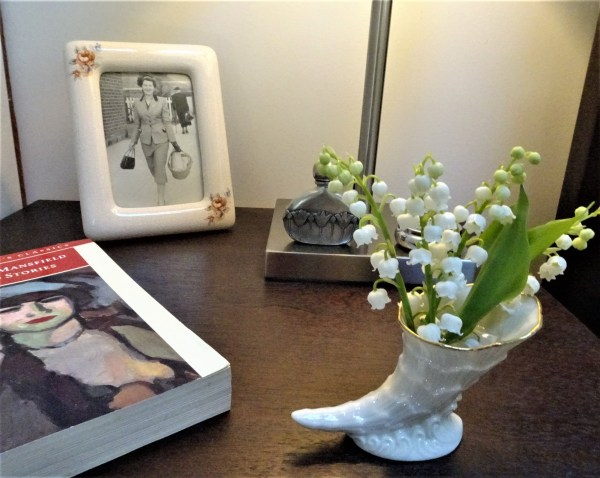 Posy of lily-of-the-valley
