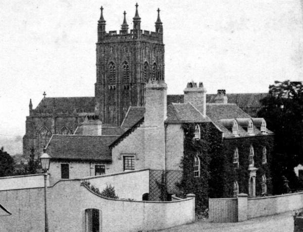 St Mary's Vicarage, Great Malvern circa 1800