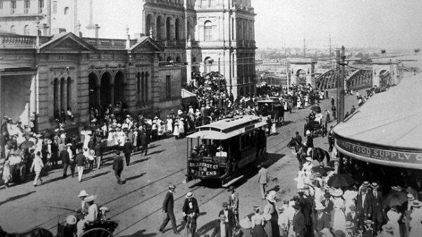 Brisbane circa 1900