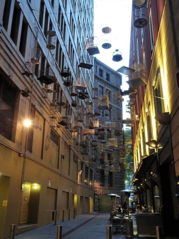 Angel Place Sydney, a memorial to lost birds.