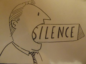 Cartoon,Blackbird,Currowong&Goose 001