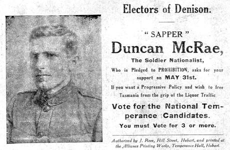 sapper-McRae Electoral ad.