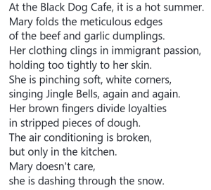 Poem by Phibby Venable about Christmas