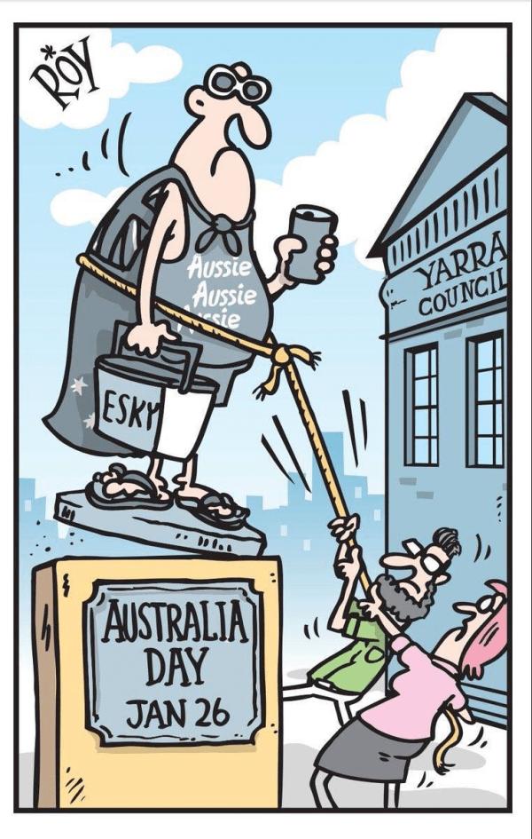 Australia Day Cartoon
