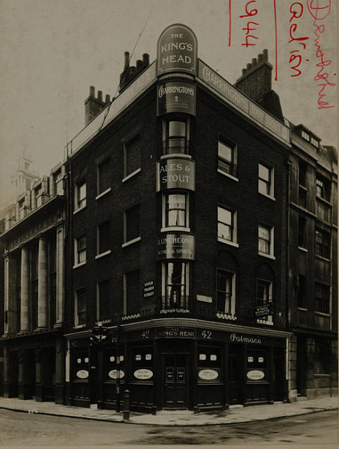 The King's Head, where Catherine and Eliza stole the drinking pots.