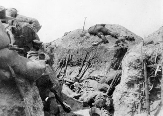 The trenches at Lone Pine. Did Arthur Singleton earn a medal here?