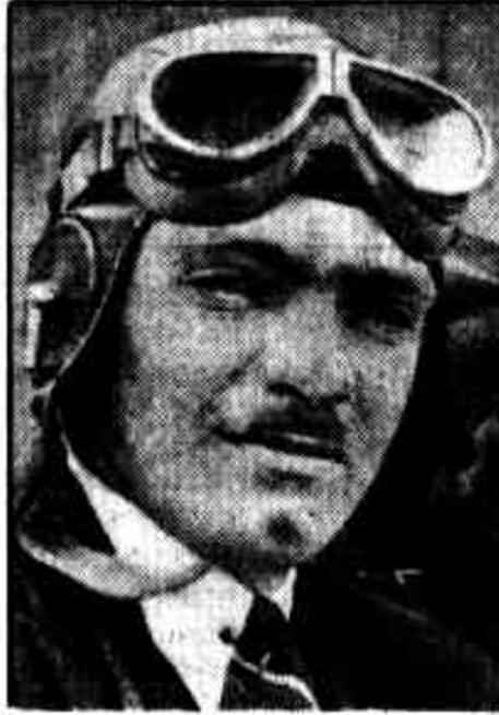 Portrait of airman Guy Menzies