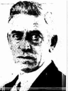 Albert Squires, injured in the Mudgee Rail Robbery