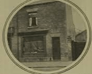Alice Wheeldon's shop and residence