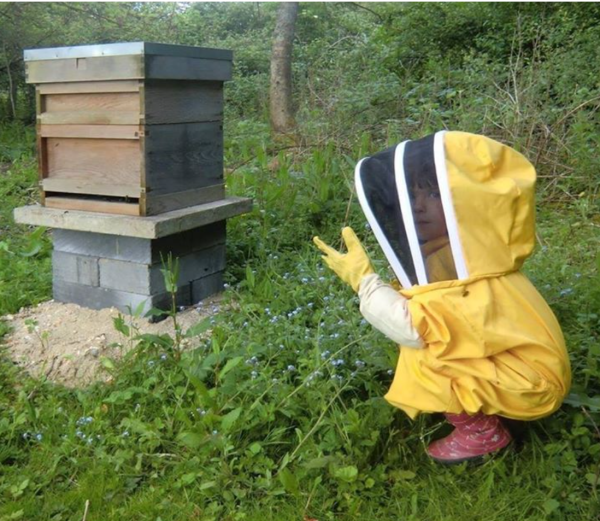 World's youngest beekeeper?