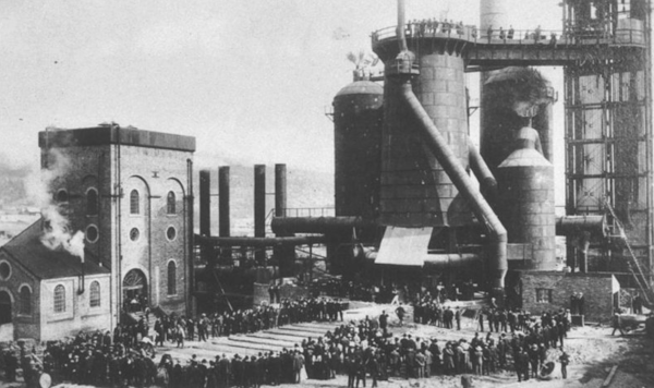 Opening of Lithgow Blast Furnace