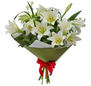 A Christmas bouquet.