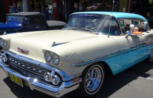 Vintage car festival at Katoomba