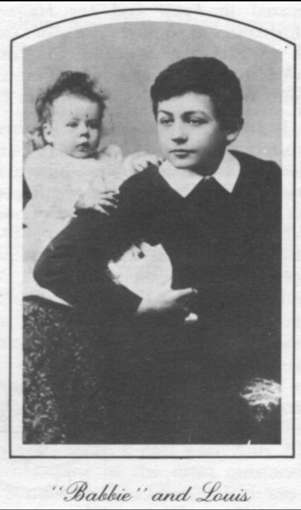 Jeanette and Lewis, Amy Sherwin's children.