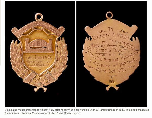 Vince Kelly Medal