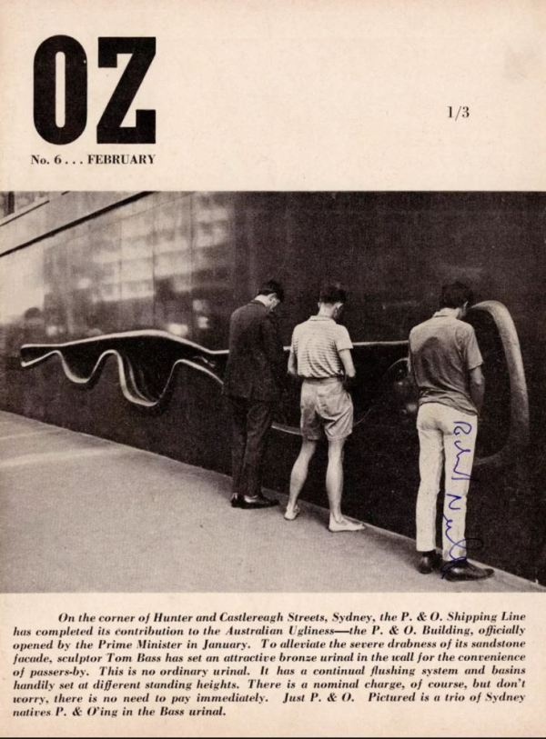 Cover of Oz Magazine