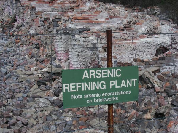 Arsenic mine neat Emmaville