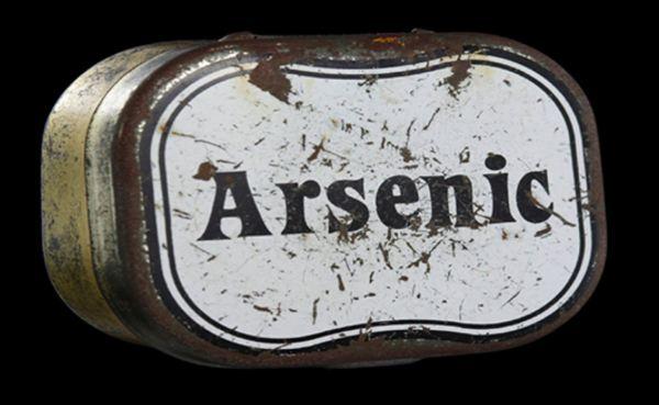 Tin of arsenic