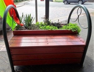 Planter seats in Glenbrook NSW