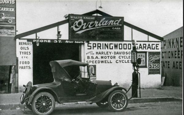Springwood garage 1920s