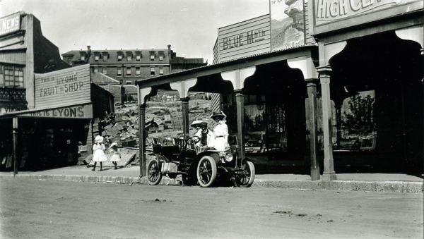 Early motoring Katooma