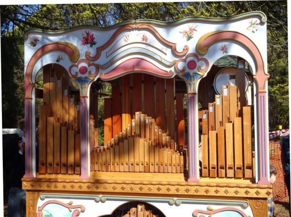 Fairground organ made by Stanley HennockFirground organ made by StanleyHennock