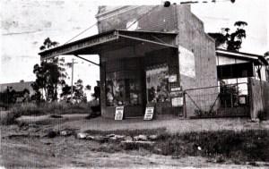 Generl Store Bullaburra 1930s
