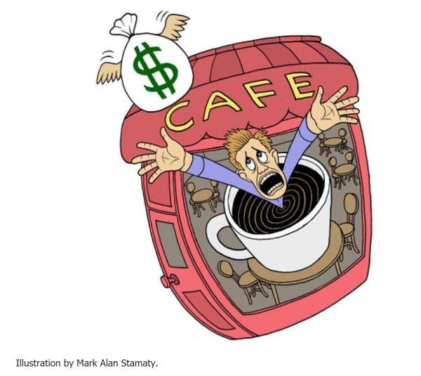 Cafe owner's dilemma.