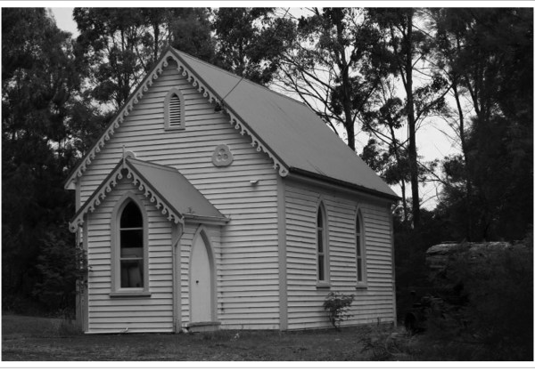 Church at Taranna on the Tasman Peninsula