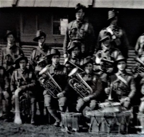 AIF brass band in WWI