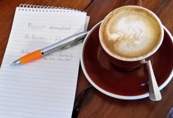 Writer's coffee.