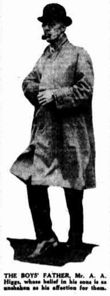 Albert Higgs, William's father.