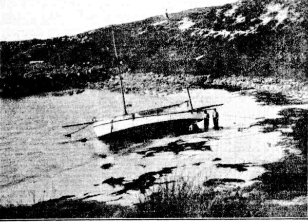 The beached Almira