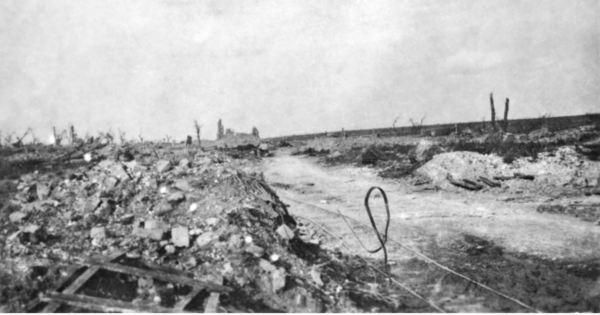 Village of Pozieres.