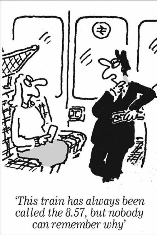 Commuter cartoon