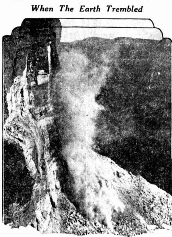Ktoomba rock collapse 1931
