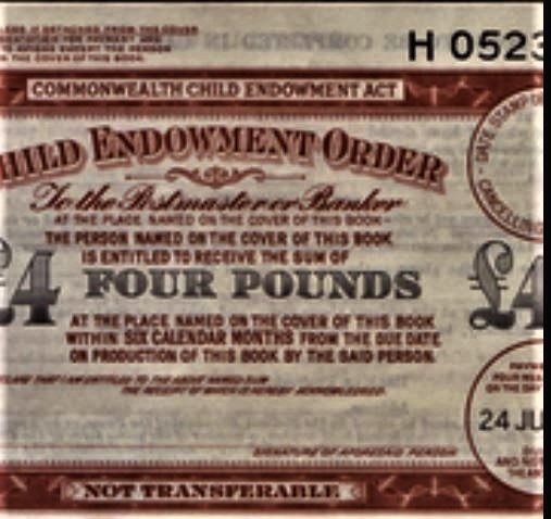 Child Endowment Order