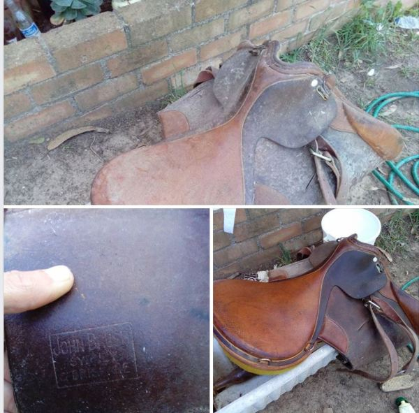 John Brush saddle circa 1900 (courtesy Brendan Morris)