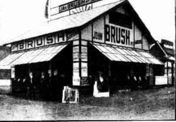 John Brush show pvilion at Sydney Show 1920