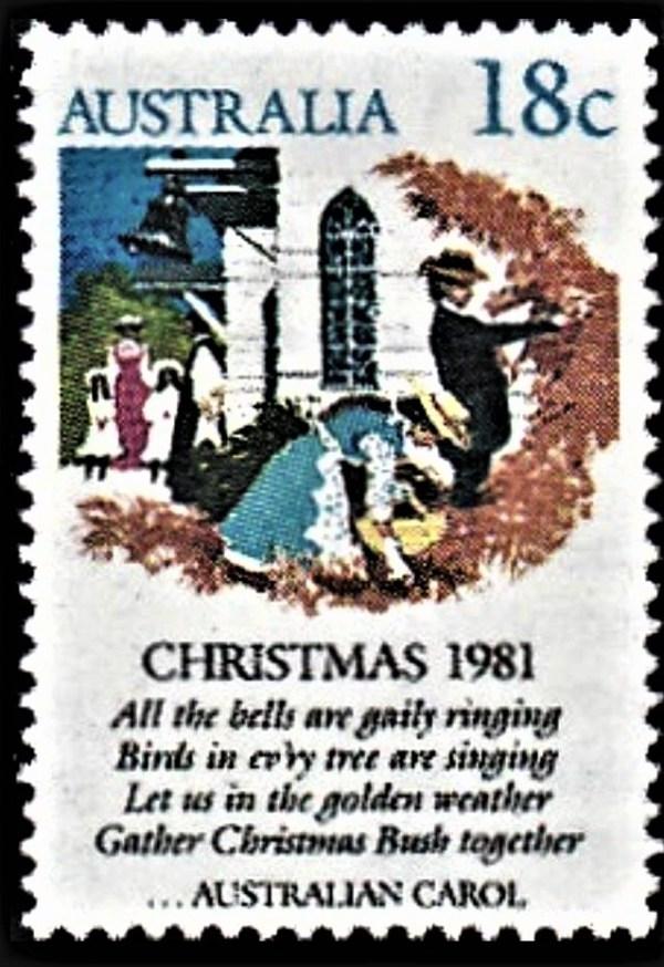 Australian Chrsitmas Stamp 1981