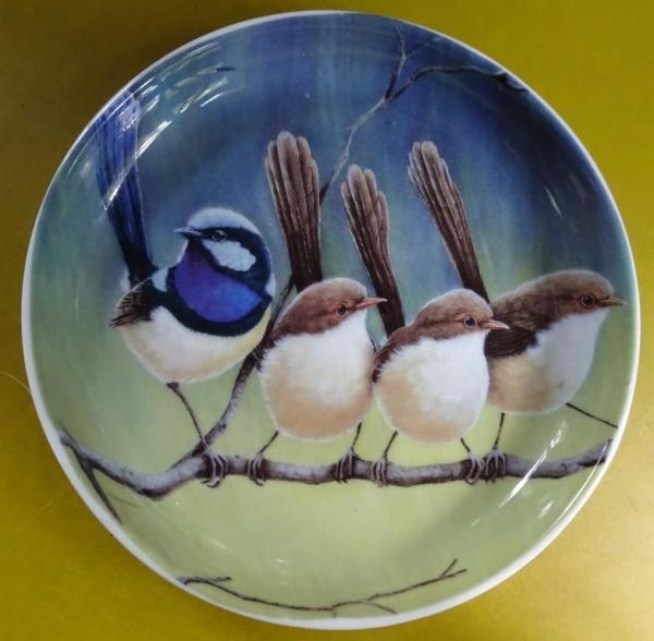 Blue wrens