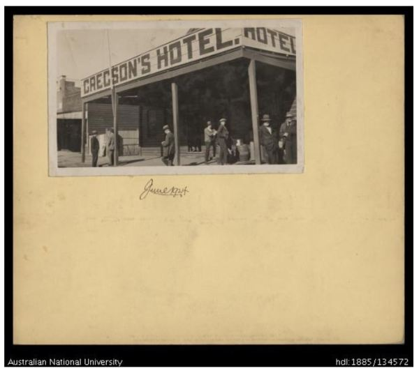 Gregson's Hotel, West Wyalong
