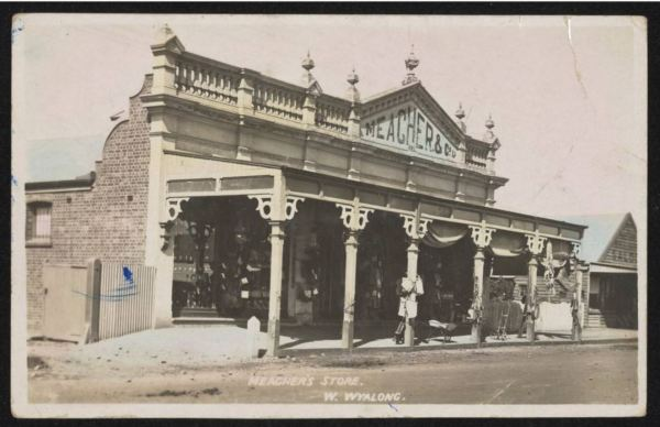Meagher's store West Wyalong 1909