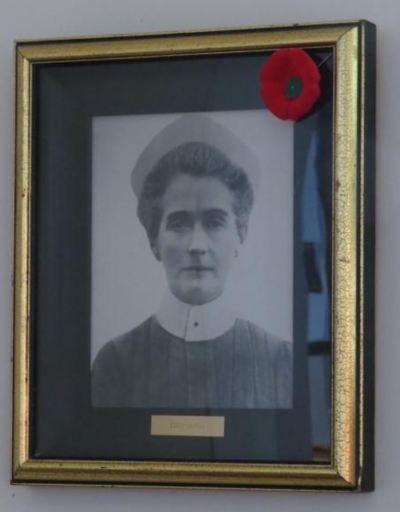 Photograph of  Edith Cavell