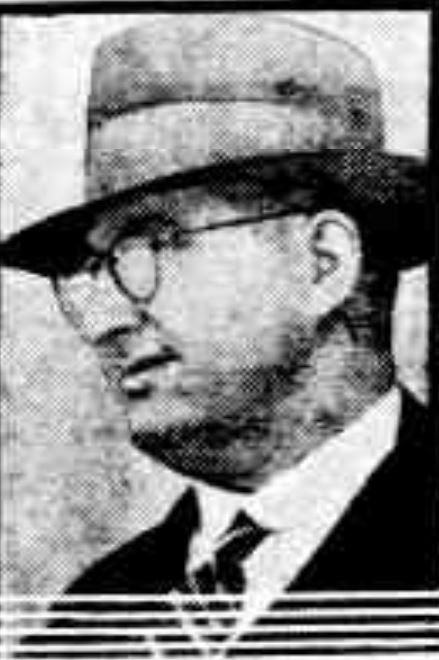 Ted Helton, beneficiary of Mrs Roche's will. but suspected of her murder with strychnine.