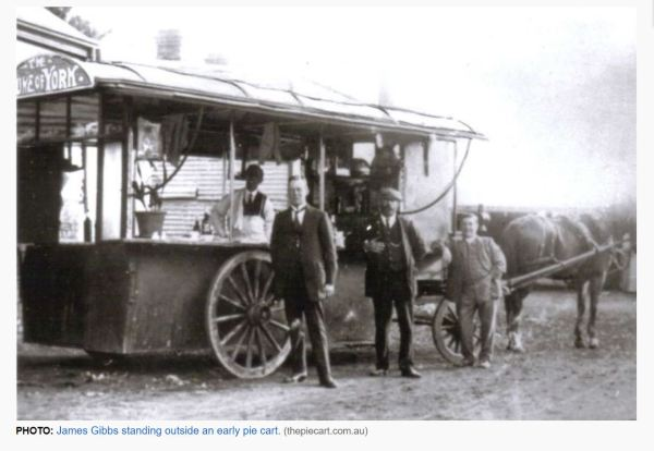 Pie cart in Adelaide
