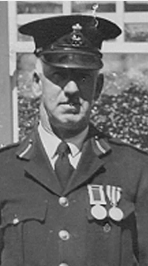 Constable Taylor, hero of the1929 Derby flood.
